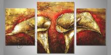 Kvety dva, ručne maľovaný obraz