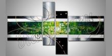 Matrix, ručne maľovaný obraz