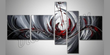 Obraz  je maľovaný ručne,V tuneli
