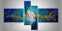 Pod morom, ručne maľovaný obraz