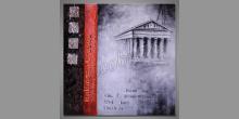 Chrám Partenón, maľovaný obraz ručne
