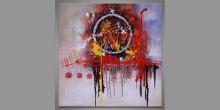 Circle, ručne maľovaný obraz