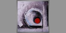 Guľa, maľovaný obraz ručne