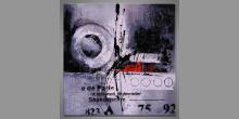 Maľovaný obraz ručne Veľke koleso, Moderné umenie