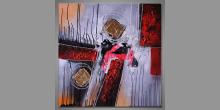 Maľovaný obraz ručne, Moderné umenie Gravite