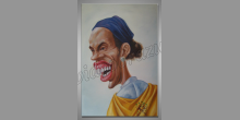 Maľované ručne, Futbalista
