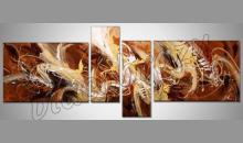 """4. Dielny obraz """" Zmes """", maľované ručne"""