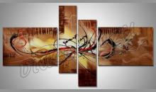 4. Dielny obraz Piesok , maľované ručne