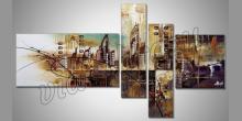 5. Dielny obraz New York, maľované ručne