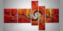 5. Dielny obraz Orange, maľované ručne