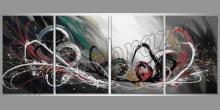 Abstract Dúha, obraz  je ručne maľovaný