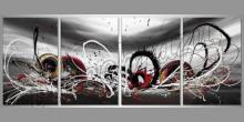 Four elements, obraz ručne maľovaný