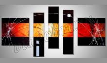 5. Dielny obraz, ručne maľovaný