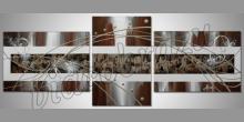 Obraz  je ručne maľovaný, Remix v obraze