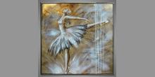 Obraz  je maľovaný ručne, Tanečnica
