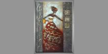 Ručne maľovaný obraz, Dievča v šatách