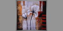 Kvet, obraz maľovaný ručne