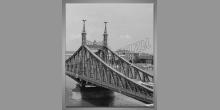Budapešť-Maďarsko, digitálne tlačený obraz