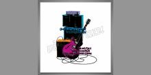 Aparatúra gitary, digitálne tlačený obraz
