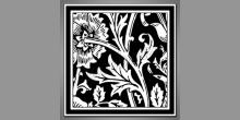 Stonka kvetu, obraz digitálne tlačený